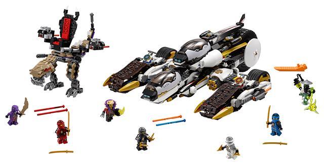 LEGO 70595 - LEGO Ninjago - Ultra lopakodó támadó