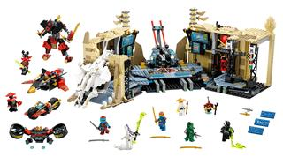 LEGO 70596 - LEGO NINJAGO - Káosz a Samurai X barlangban