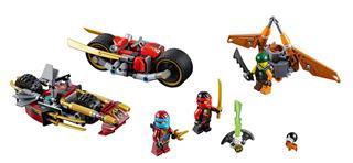 LEGO 70600 - LEGO Ninjago - Nindzsa motoros hajsza