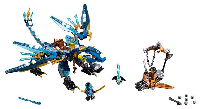 LEGO 70602 - LEGO Ninjago - Jay elemi sárkánya