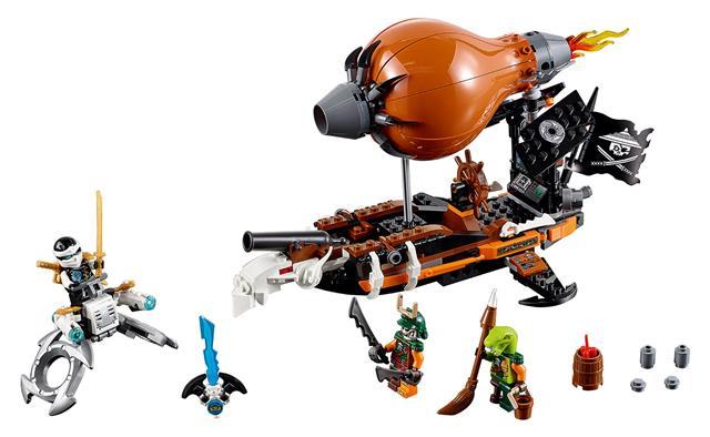 LEGO 70603 - LEGO Ninjago - Léghajó támadás