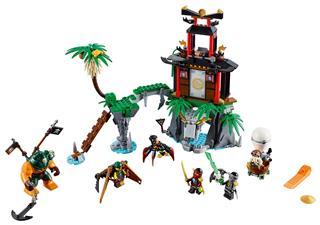 LEGO 70604 - LEGO Ninjago - Az özvegy tigris szigete