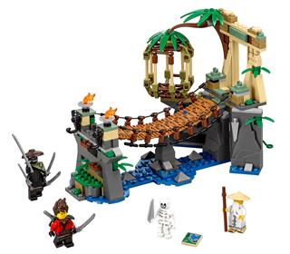 LEGO 70608 - LEGO The Ninjago Movie - Mesteri vízesés