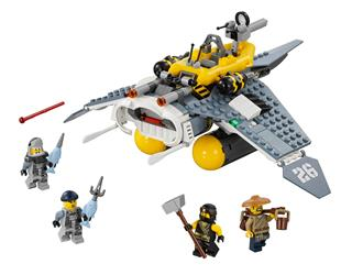 LEGO 70609 - LEGO The Ninjago Movie - Manta Ray bombázó