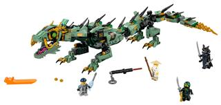 LEGO 70612 - LEGO The Ninjago Movie - Zöld nindzsa mechanikus sár...