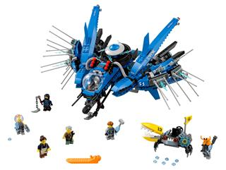 LEGO 70614 - LEGO The Ninjago Movie - Villám repülő