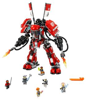 LEGO 70615 - LEGO The Ninjago Movie - Tűzgép