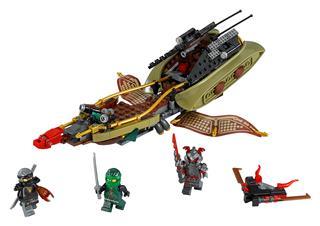 LEGO 70623 - LEGO NINJAGO - A sors árnyéka