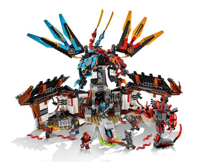 LEGO 70627 - LEGO Ninjago - Sárkányműhely
