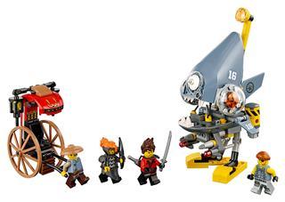 LEGO 70629 - LEGO NINJAGO - Piranha támadás