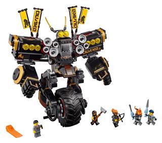 LEGO 70632 - LEGO NINJAGO - Földrengés robot