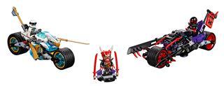 LEGO 70639 - LEGO Ninjago - A Jaguárkígyó utcai verseny