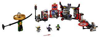 LEGO 70640 - LEGO Ninjago - G.F. Központ