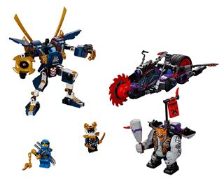 LEGO 70642 - LEGO Ninjago - Killow  Szamuráj X ellen