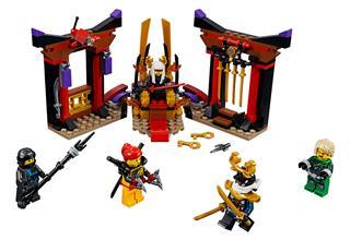 LEGO 70651 - LEGO NINJAGO - Leszámolás a trónteremben