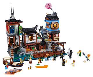 LEGO 70657 - LEGO NINJAGO - NINJAGO® City Dokkjai