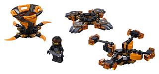 LEGO 70662 - LEGO NINJAGO - Spinjitzu Cole