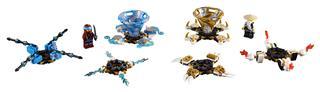 LEGO 70663 - LEGO NINJAGO - Spinjitzu Nya és Wu