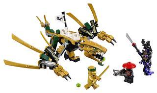 LEGO 70666 - LEGO NINJAGO - Az aranysárkány