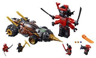 LEGO 70669 - LEGO NINJAGO - Cole földfúrója