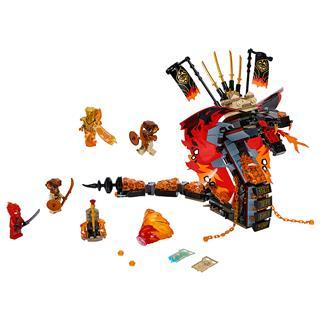 LEGO 70674 - LEGO NINJAGO - Tüzes Agyar
