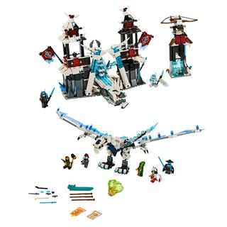 LEGO 70678 - LEGO NINJAGO - A Cserbenhagyott Császár Kastélya