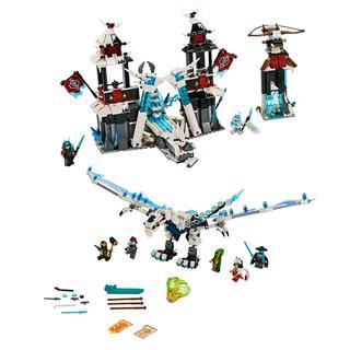 LEGO 70678 - LEGO NINJAGO - A Cserbenhagyott Császár Kastélya