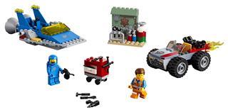 LEGO 70821 - LEGO Movie 2 - Emmet és Benny Építő és javító műhelye!