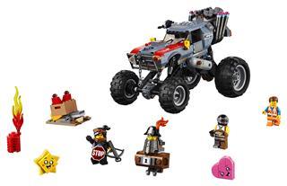 LEGO 70829 - LEGO Movie 2 - Emmet és Lucy menekülő homokfutója!