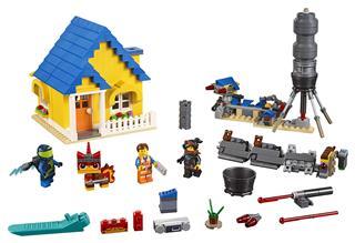 LEGO 70831 - LEGO Movie 2 - Emmet Álomháza/Mentőrakétája!