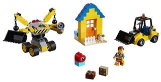 LEGO 70832 - LEGO Movie 2 - Emmet építőkészlete!