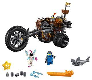 LEGO 70834 - LEGO Movie 2 - Fémszakáll nehézfém háromkerekű motorja!
