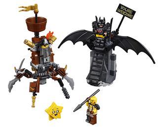 LEGO 70836 - LEGO Movie 2 - Harcra kész Batman™ és Fémszakáll