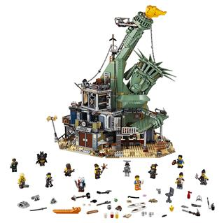 LEGO 70840 - The LEGO Movie 2 - Üdvözlet Apocalypseburgben!