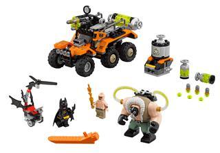 LEGO 70914 - LEGO Batman Movie - Bane™ mérgező furgonos támadása
