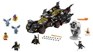 LEGO 70917 - LEGO Batman Movie - A felülmúlhatatlan Batmobil