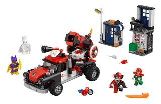 LEGO 70921 - LEGO Batman Movie - Harley Quinn™ ágyúgolyós támadása