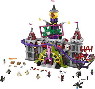 LEGO 70922 - LEGO The Batman Movie - Joker kastélya