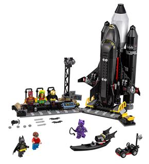 LEGO 70923 - LEGO Batman Movie - Denevér űrhajó
