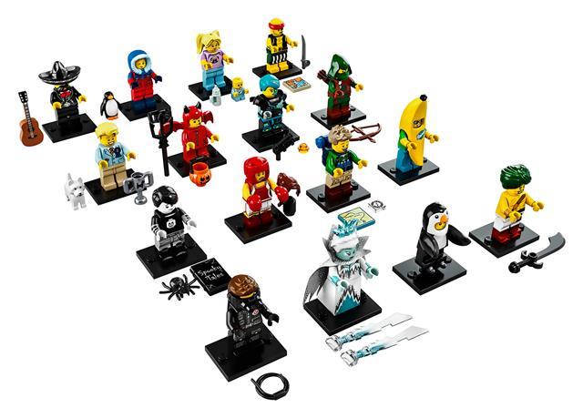 LEGO 71013 - LEGO Minifigurák - 16. sorozat