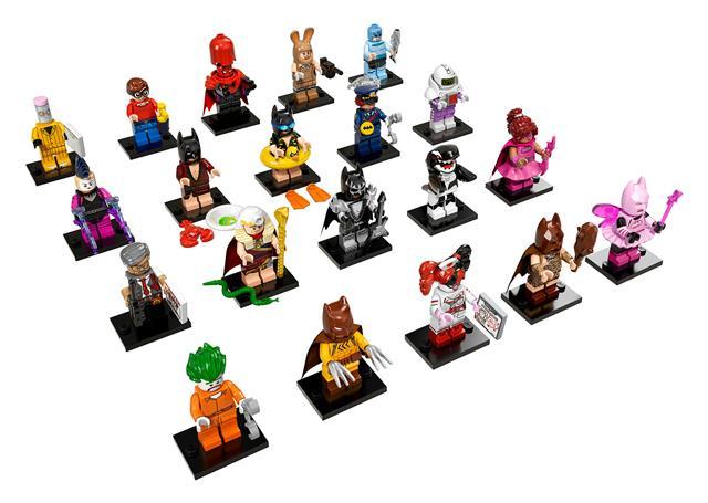 LEGO 71017 - LEGO Minifigurák - LEGO Batman Movie minifigura sorozat