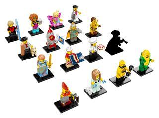 LEGO 71018 - LEGO Minifigurák - 17. széria