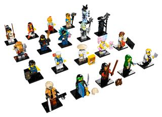 LEGO 71019 - LEGO The Ninjago Movie - Minifigura sorozat