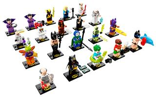 LEGO 71020 - LEGO Minifigurák - LEGO Batman Movie minifigura soro...