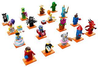 LEGO 71021 - LEGO minifigura sorozat - 18. széria