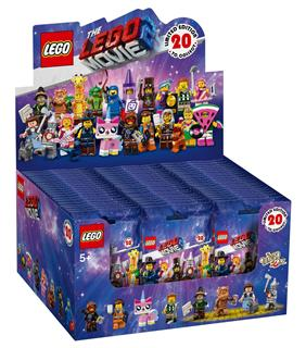 LEGO 71023BOX - The LEGO Movie 2 - Minifigura sorozat - Teljes doboz...