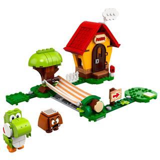 LEGO 71367 - LEGO Super Mario - Mario háza & Yoshi kiegészítő szett