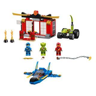 LEGO 71703 - LEGO NINJAGO - Viharharcos csata