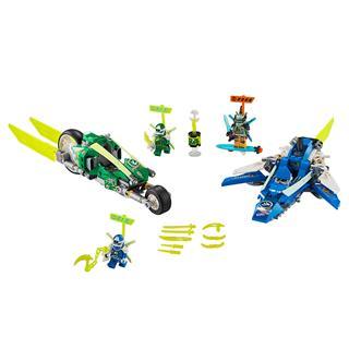 LEGO 71709 - LEGO NINJAGO - Jay és Lloyd versenyjárművei