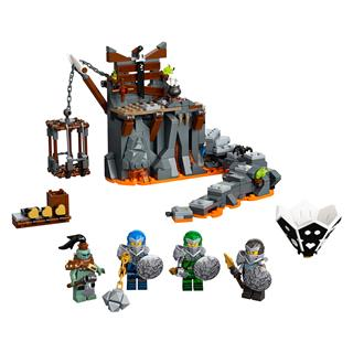 LEGO 71717 - LEGO NINJAGO - Utazás a koponyás tömlöcökbe